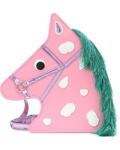 Różowy torba Stella Mccartney Kids