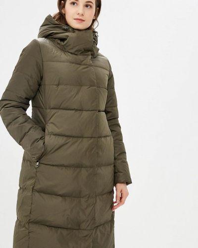 Зимняя куртка осенняя зеленая Lusio