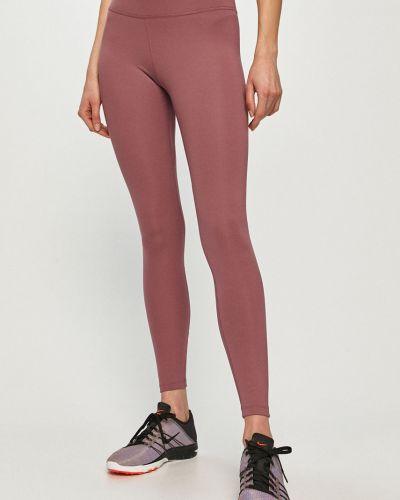 Fioletowe legginsy materiałowe Nike