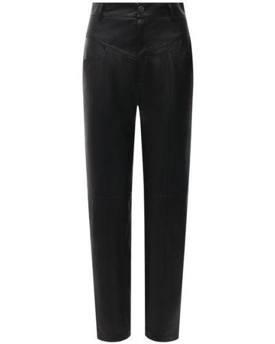 Кожаные брюки с подкладкой Simonetta Ravizza
