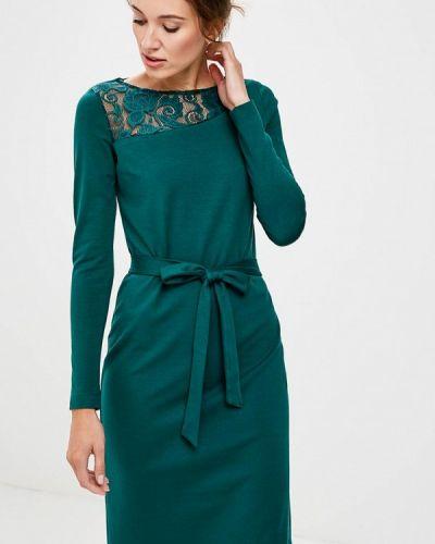 Платье осеннее зеленый Vittoria Vicci