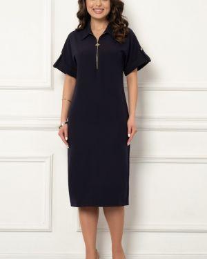 Деловое платье классическое с поясом Bellovera