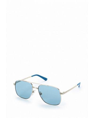 Солнцезащитные очки серебряного цвета Vogue® Eyewear