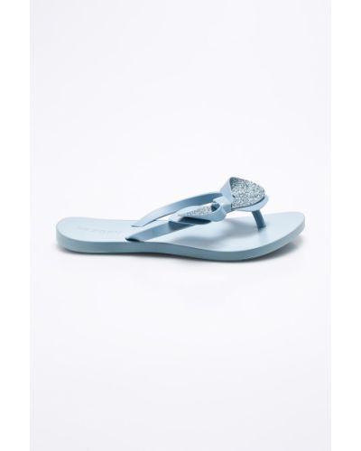 Синие сандалии Zaxy