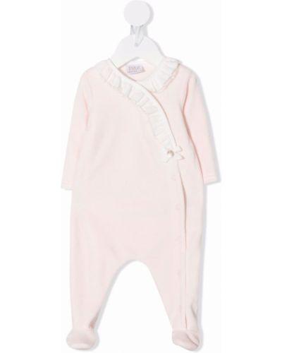 Różowa piżama bawełniana Paz Rodriguez
