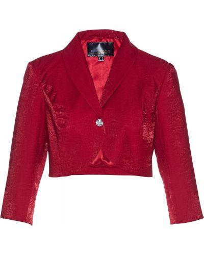 Модное с рукавами красное болеро Bonprix