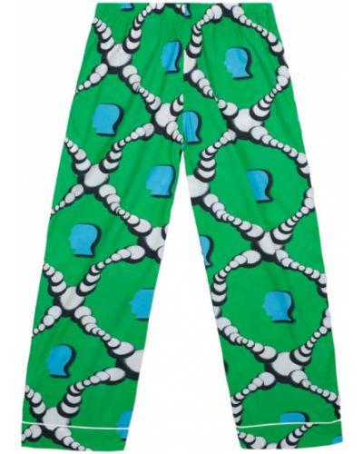 Piżama - zielona Brain Dead