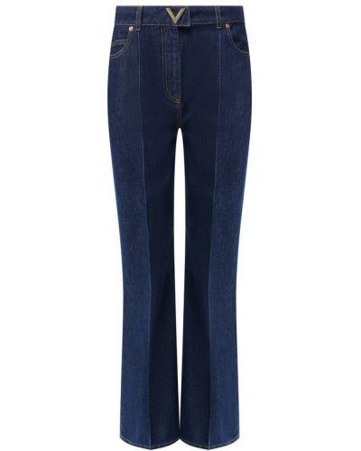 Расклешенные джинсы с вышивкой с карманами Valentino