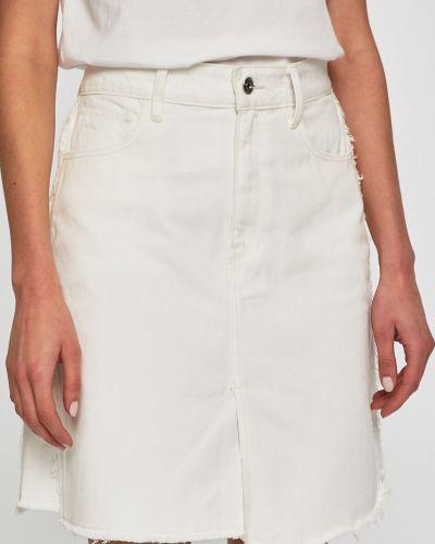 Юбка мини джинсовая на пуговицах G-star Raw