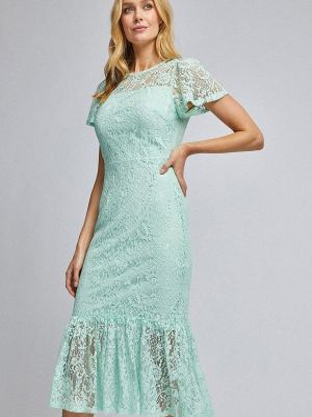 Вечернее платье бирюзовый весеннее Dorothy Perkins
