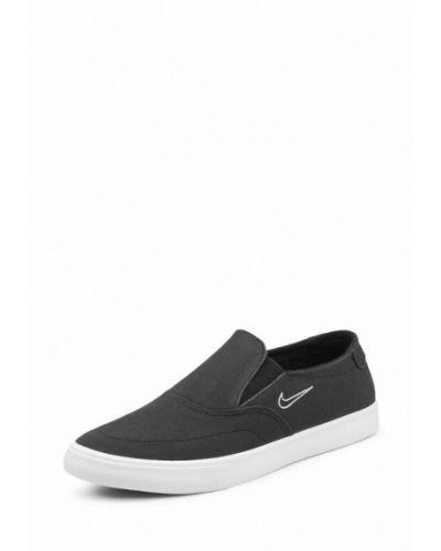 Черные эспадрильи Nike
