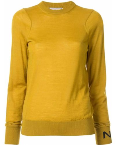 Топ горчичный желтый Nina Ricci