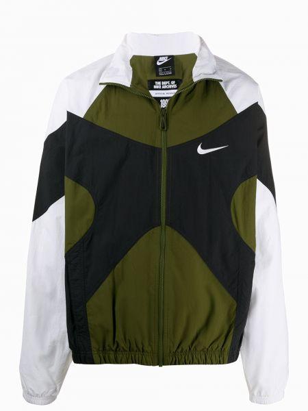 Спортивная куртка черная длинная Nike