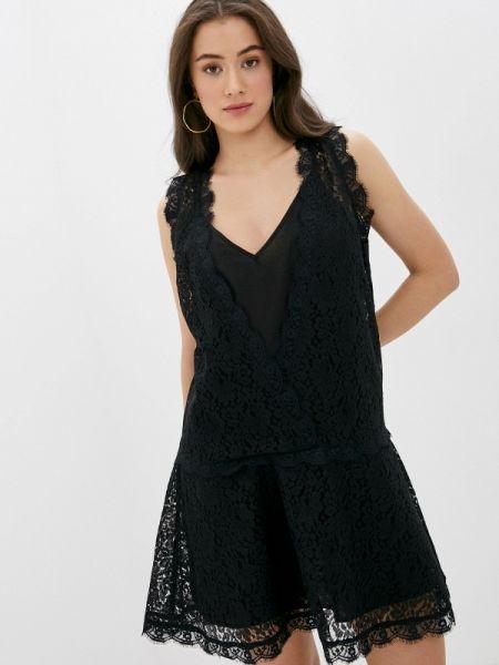Черное вечернее платье Sh
