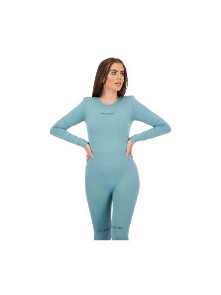 Body z długimi rękawami - niebieski Reinders
