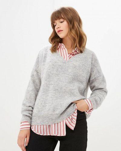 Серый пуловер 2018 Selected Femme