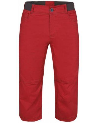 Бордовые капри эластичные со вставками Red Fox