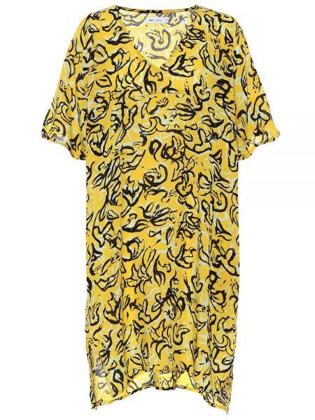 Кафтан с цветочным принтом Diane Von Furstenberg