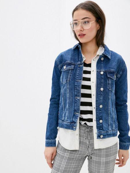 Горнолыжная куртка джинсовая весенняя Defacto