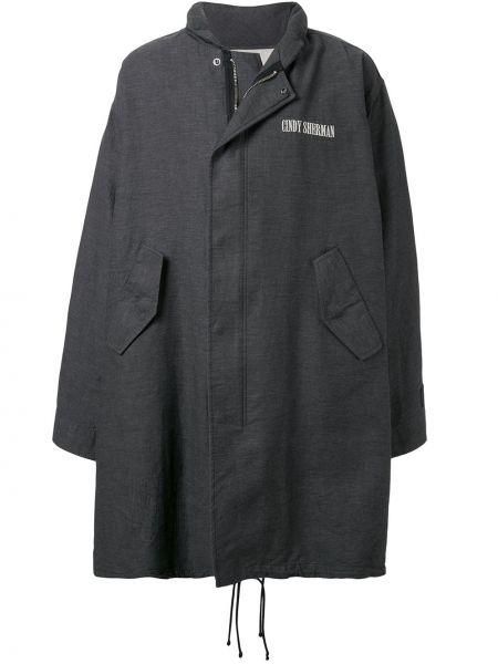 Płaszcz bawełniany z printem Undercover