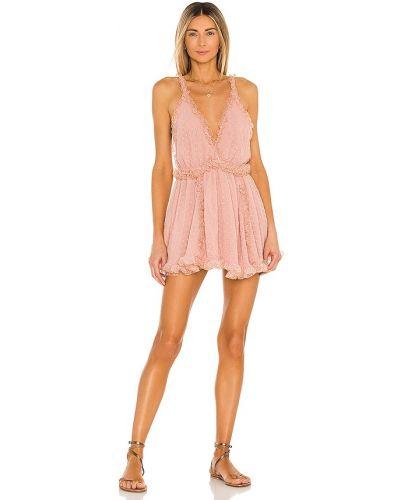 Sukienka mini z szyfonu Chio