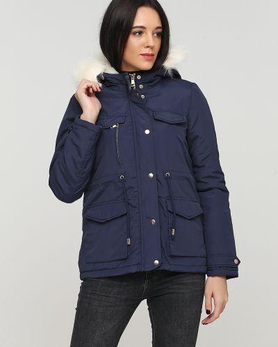 Куртка с капюшоном - синяя Alcott