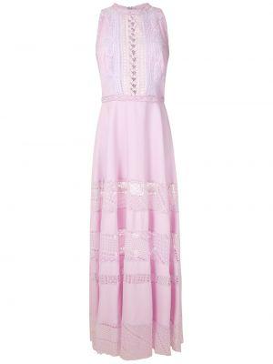 Фиолетовое приталенное платье на молнии без рукавов Martha Medeiros