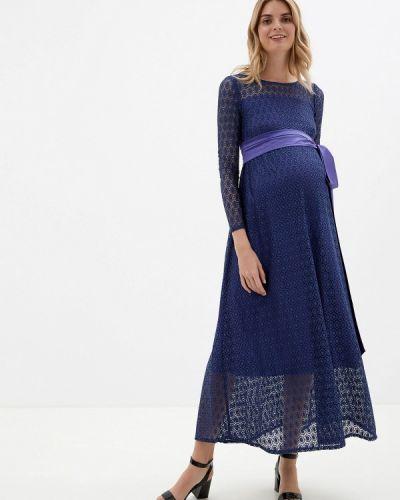 Платье синее Olesya Zubova