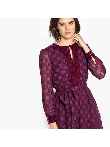 Платье мини миди с вышивкой La Redoute Collections