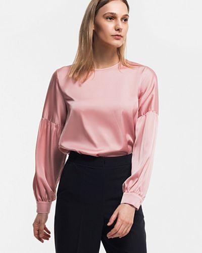 Блузка розовая весенний Grass