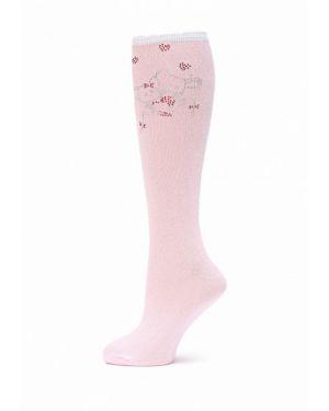 Розовые гольфы Larmini
