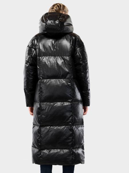 Черное пальто Braska