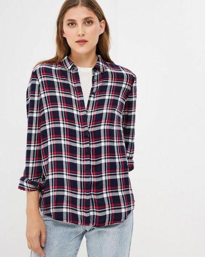 Рубашка с длинным рукавом синяя оливковый S.oliver