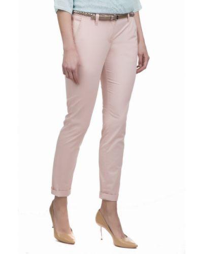Розовые брюки хлопковые Tom Tailor