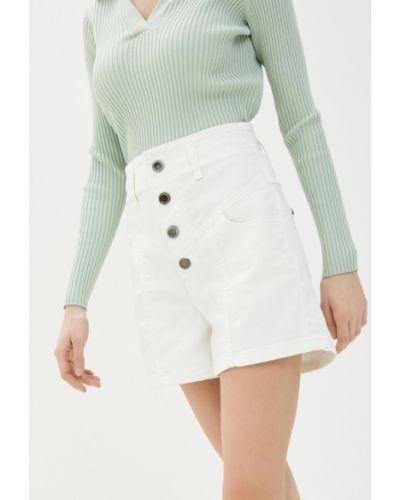 Белые джинсовые шорты Unq