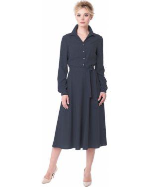 Деловое платье платье-сарафан прямое Zip-art