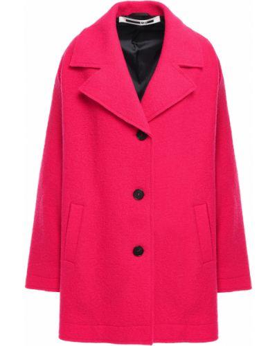 Розовое шерстяное пальто Mcq Alexander Mcqueen