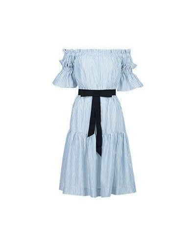 Хлопковое платье - голубое Marco Bologna