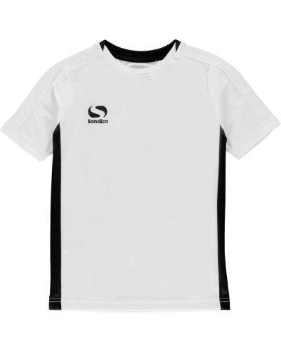Klasyczna biała koszula krótki rękaw Sondico