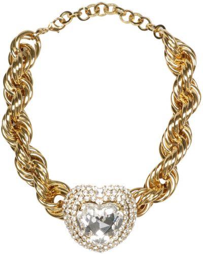 Złoty choker Alessandra Rich
