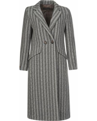 Пальто из вискозы - серое Peruffo