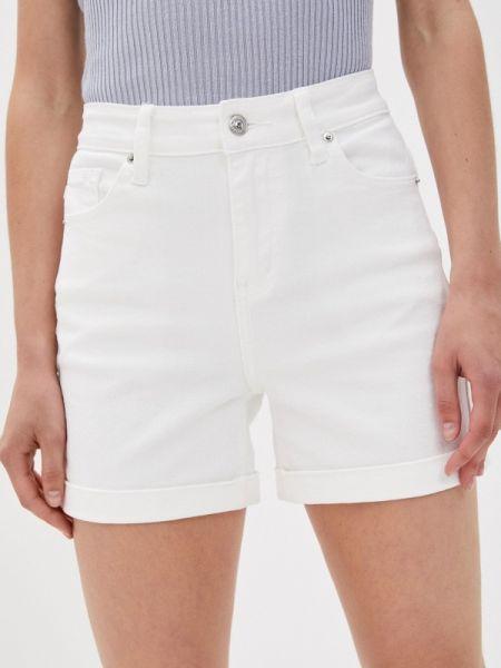 Джинсовые шорты белые Zarina