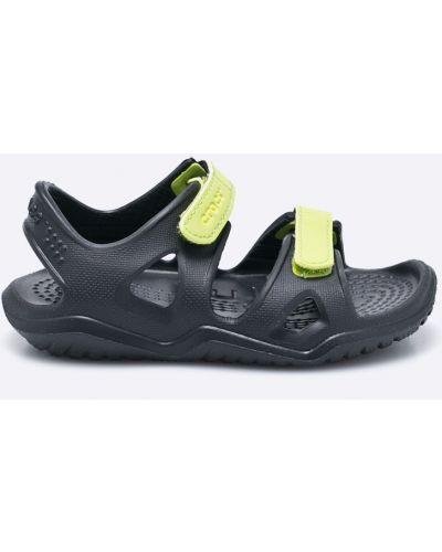 Шлепанцы детский черный Crocs