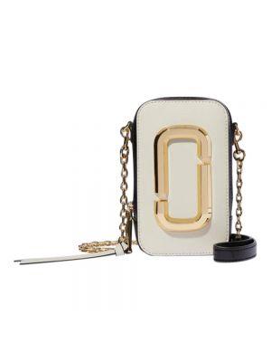 Torba na ramię - biała Marc Jacobs