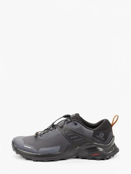 Текстильные черные кроссовки Salomon