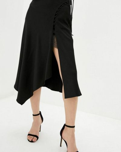 Черная юбка свободного кроя Miss Sixty