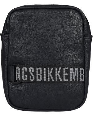 Сумка на молнии - черная Bikkembergs