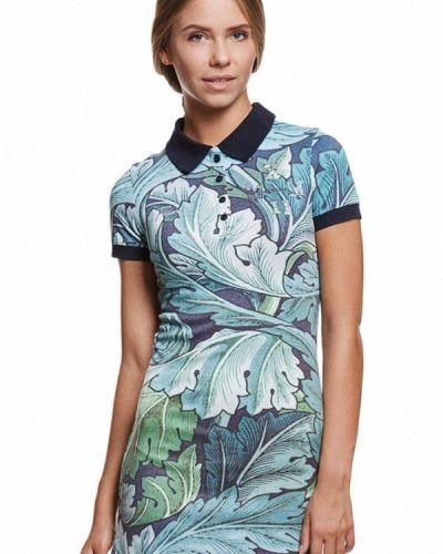 Платье платье-сарафан бирюзовый Fusion