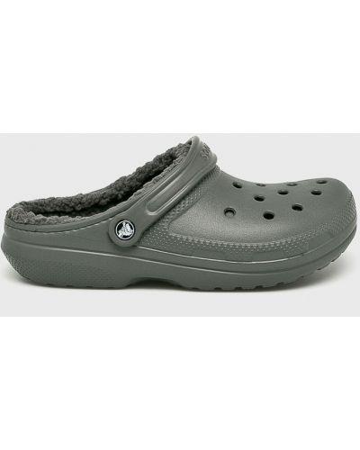 Сандалии серые с подкладкой Crocs