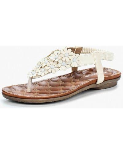 Белые сандалии Amazonga